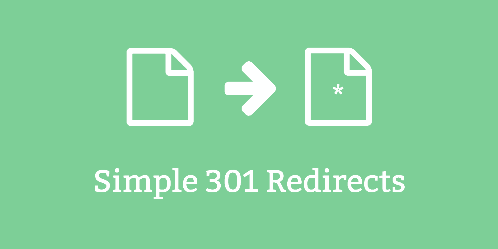 simple 301 redirects featured -